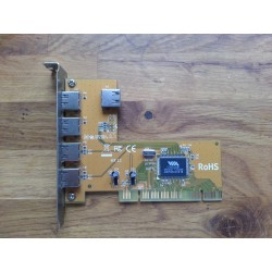 5 port USB 2 PCI card, add...